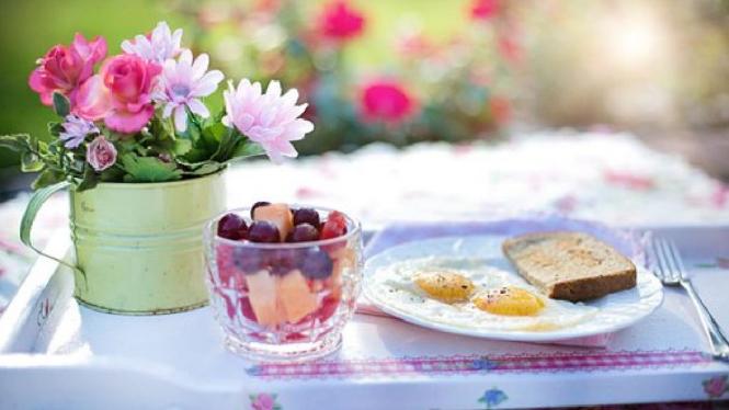 Ilustrasi sarapan