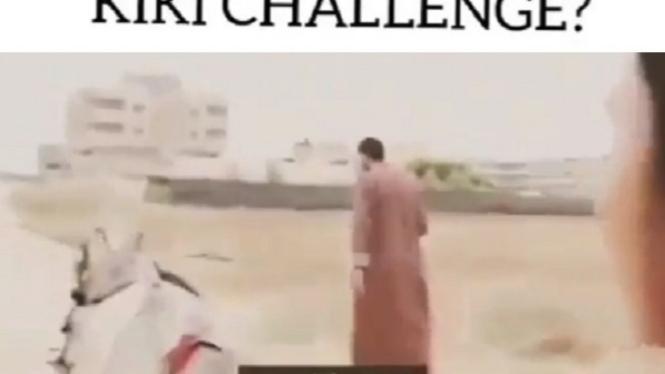 Pesan dari Gaza soal Kiki Challenge.