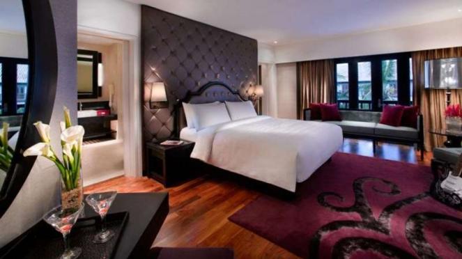 King Suite Bedroom Hard Rock Hotel Bali