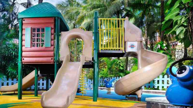 Kids Playground Hard Rock Hotel Bali