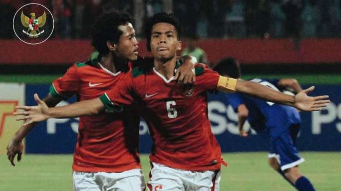 Pemain timnas Indonesia U-16, David Maulana (6)