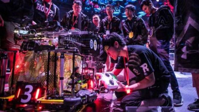 Kompetisi robotik tahunan, RoboMaster.