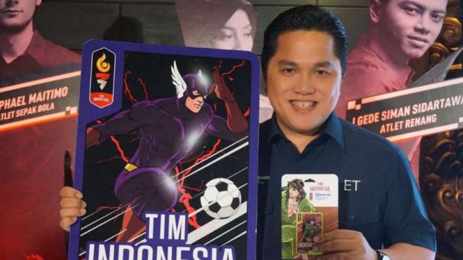 Peluncuran kartu Brizzi untuk Asian Games 2018
