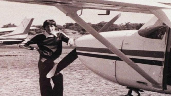 Pilot dan pesawat yang hilang.