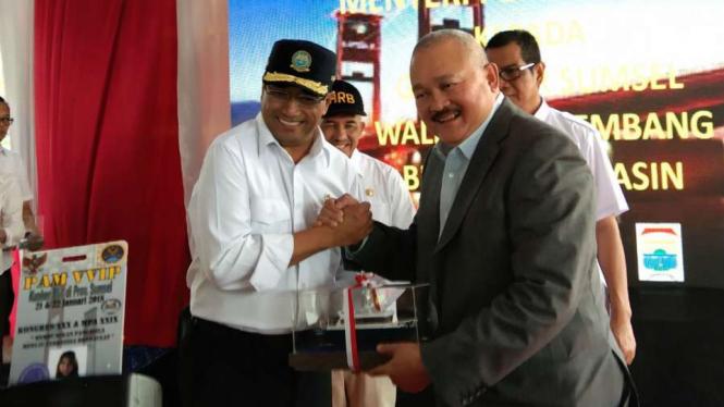 Mantan Gubernur Sumatera Selatan Alex Noerdin