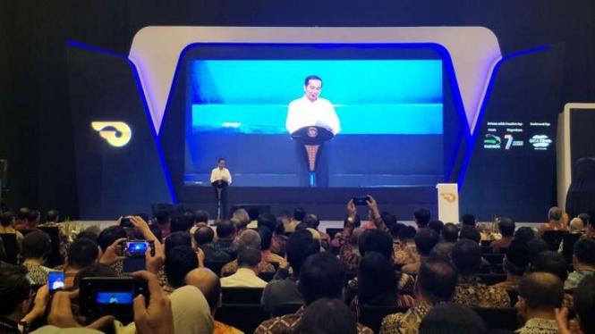 Presiden Jokowi resmikan GIIAS 2018.