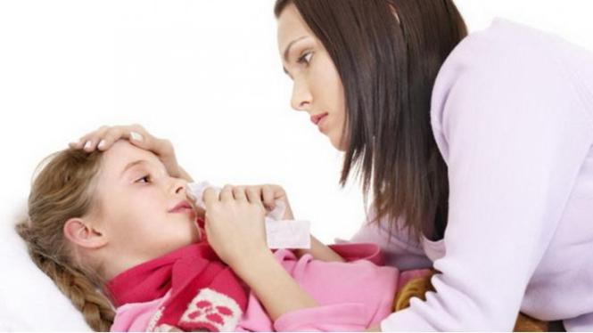 Ilustrasi penyakit pneumonia.