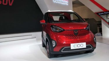 Mobil listrik Wuling E100.