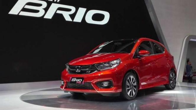 All new Honda Brio dirilis secara resmi di GIIAS 2018.