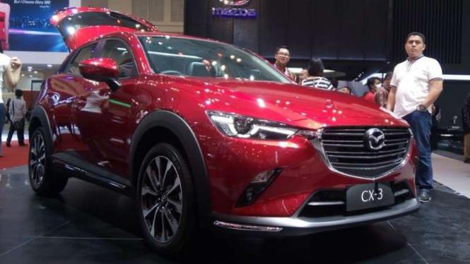 Mazda CX3 terbaru yang dirilis di GIIAS 2018.