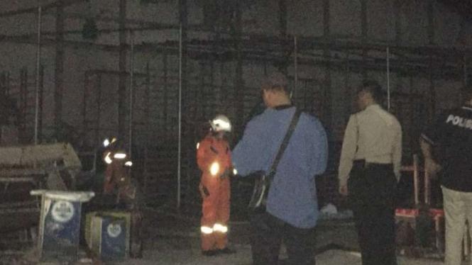 Kebakaran Terjadi di Kompleks Velodrome Rawamangun