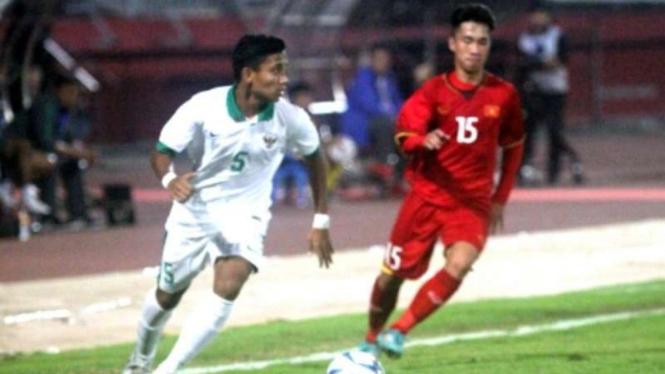 Indonesia Vs Vietnam di Piala AFF U-16 2018