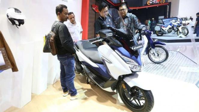 Honda Forza meluncur resmi di GIIAS 2018.