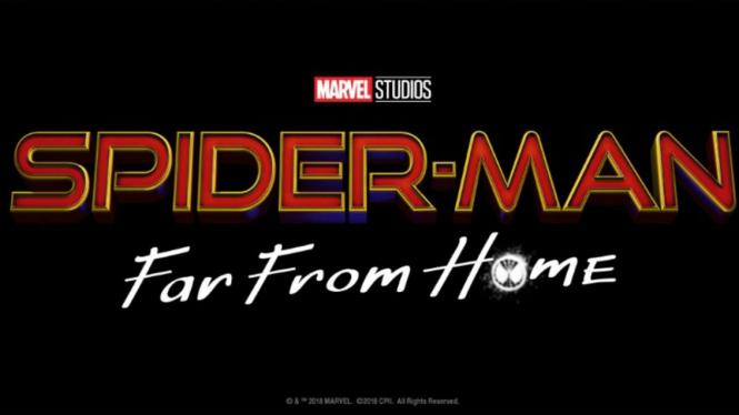 Logo Perdana Spider-Man: Far From Home