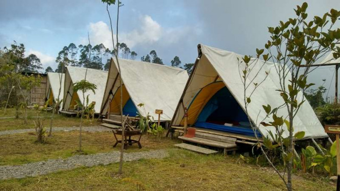 Kawasan wisata Rancabali, Ciwidey, Jawa Barat