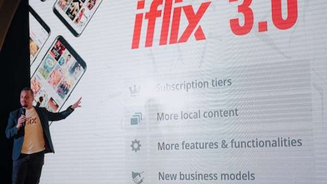 Layanan Subscription Video on Demand (SVoD), Iflix.