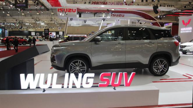 Deretan Mobil Terbaru di GIIAS 2018,  Wuling SUV