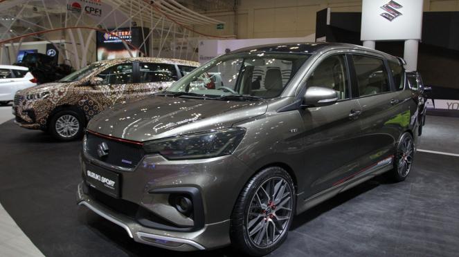 Deretan Mobil Terbaru di GIIAS 2018, Suzuki Ertiga Sport