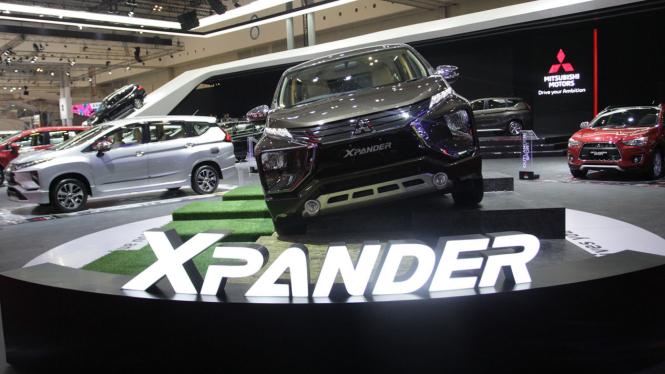 Deretan Mobil Terbaru di GIIAS 2018, Mitsubishi XPander