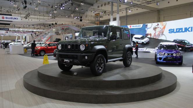 Mobil Konsep Suzuki Jimny di GIIAS 2018, Booth Suzuki