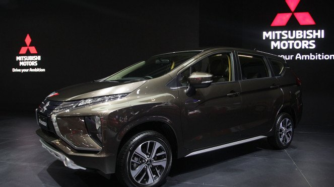 Mitsubishi Xpander di GIIAS 2018, Booth Mitsubishi