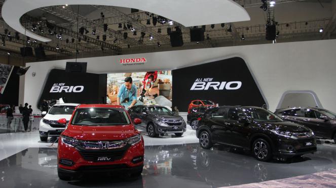 Booth Honda di GIIAS 2018