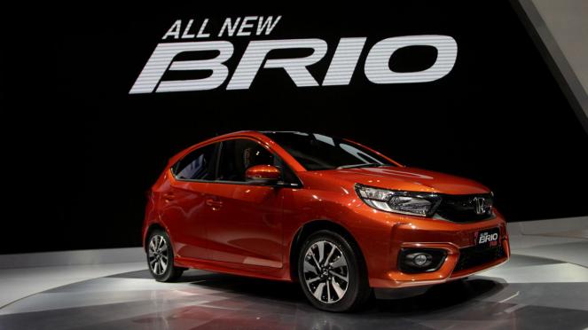 Honda All New Brio di GIIAS 2018