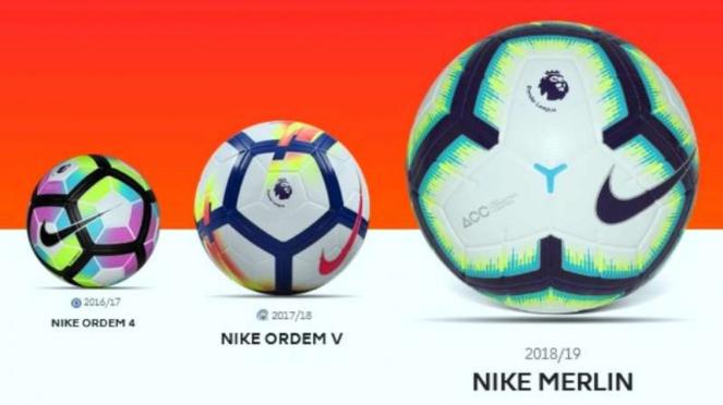 Bola resmi Premier League 2018/19, Nike Merlin