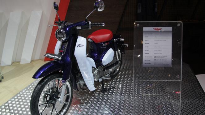 Motor Honda Super Cub 125 di GIIAS 2018