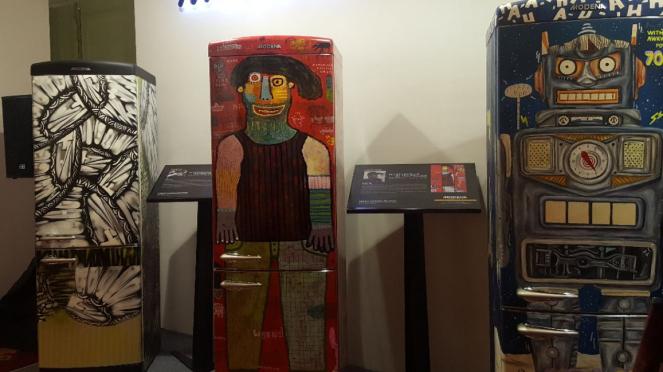 Karya seni di Art Jakarta 2018