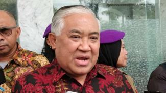 Ketua Dewan Pertimbangan Majelis Ulama Indonesia (MUI) Din Syamsuddin.