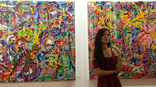 Lukisan di Art Jakarta 2018