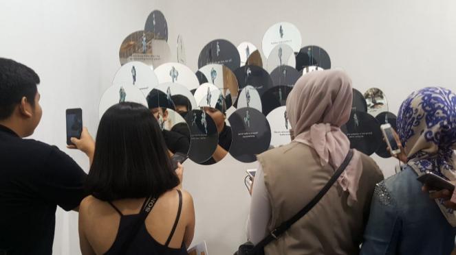 Karya seni cermin di Art Jakarta 2018
