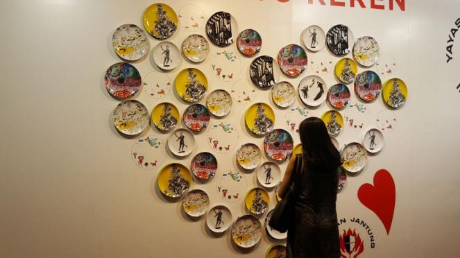 Karya seni Yayasan Jantung Indonesia