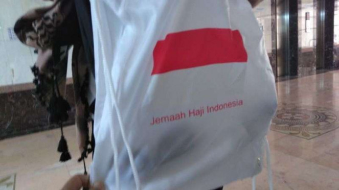 Alat Pelindung Diri jemaah haji Indonesia