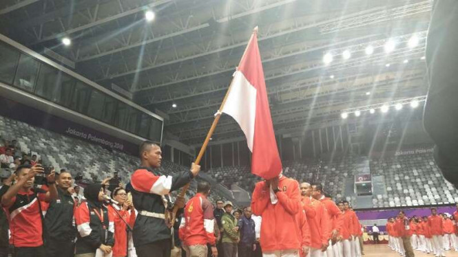 Pengukuhan Kontingen Asian Games Indonesia