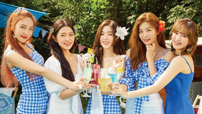 Red Velvet menjadi salah satu idul yang bakal tampil di Super K-Pop Festival Indonesia 2019.