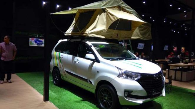 Toyota Avanza Camper