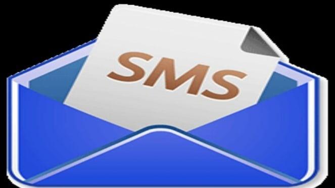 Ilustrasi pesan singkqt SMS.