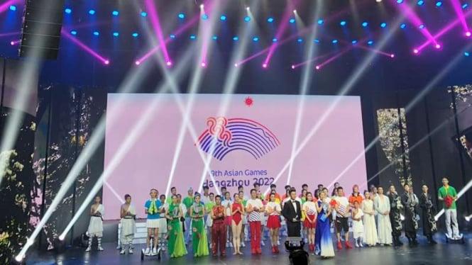 Peluncuran Logo Asian Games Hangzhou 2022.