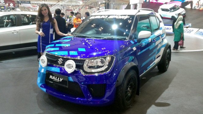 Suzuki Ignis Rally Edition