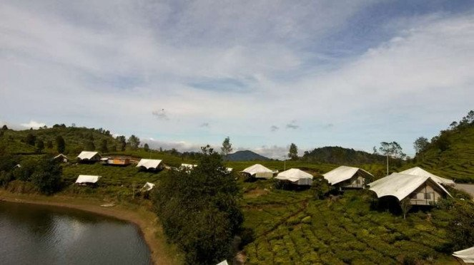 Glamping Lakeside Rancabali di Ciwidey, Kabupaten Bandung