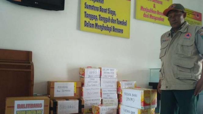 Bantuan logistisk untuk korban gempa Lombok dari Padang Sumatera Barat