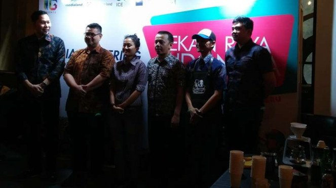 Media gathering Pekan Raya Indonesia 2018