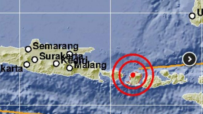 Gempa 6,2 SR kembali mengguncang Lombok.