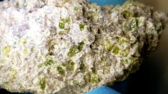 Meteorit langka.