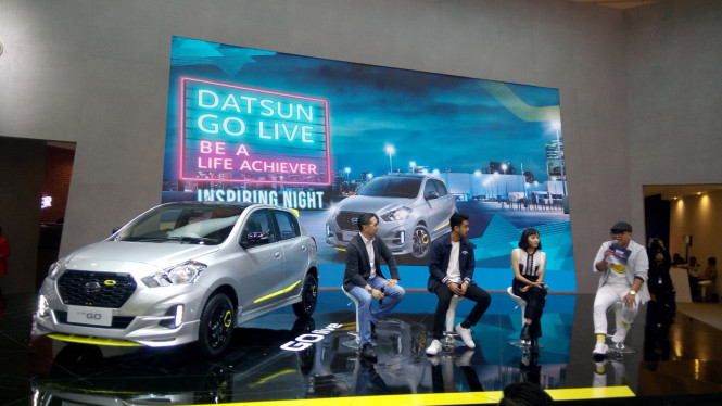Booth Datsun di GIIAS 2018