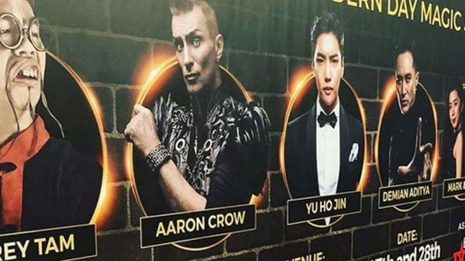 Jeffrey Tam, Aaron Crow,  Yu Ho Jin, Demian, Mark & Pinky