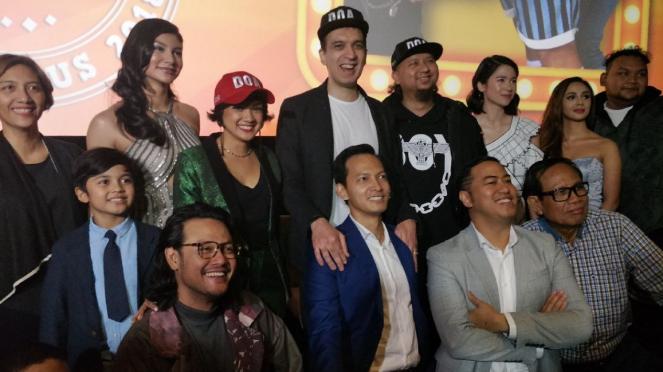 Para pemain film Doa (Doyok, Otoy, Ali)