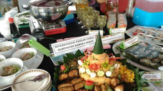 Gerakan Makan Sayuran, Buah, Umbi-umbian, Kacang-kacangan, dan Ayam Merawang
